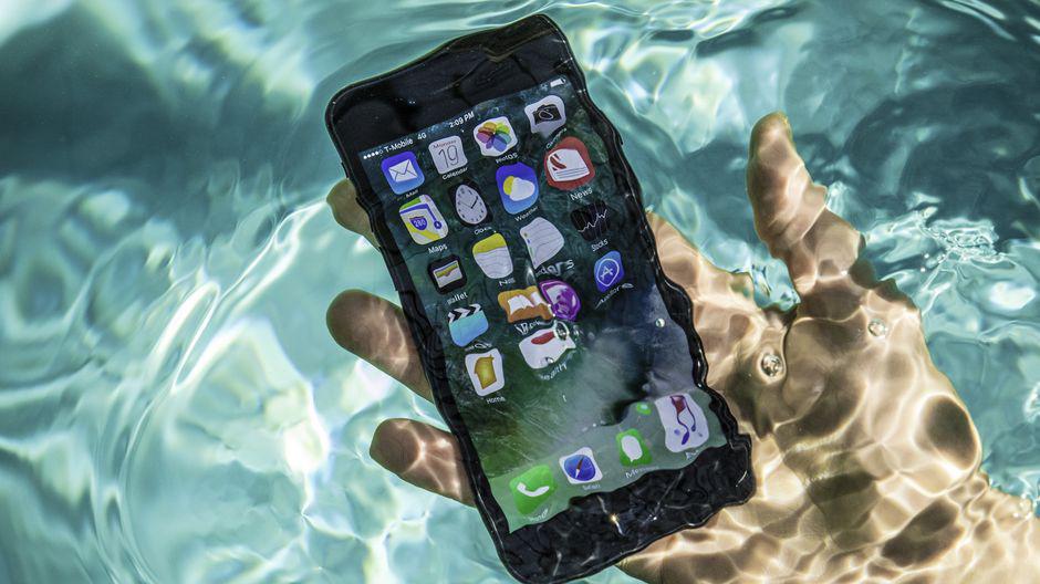 Réparer iphone tombé dans l eau